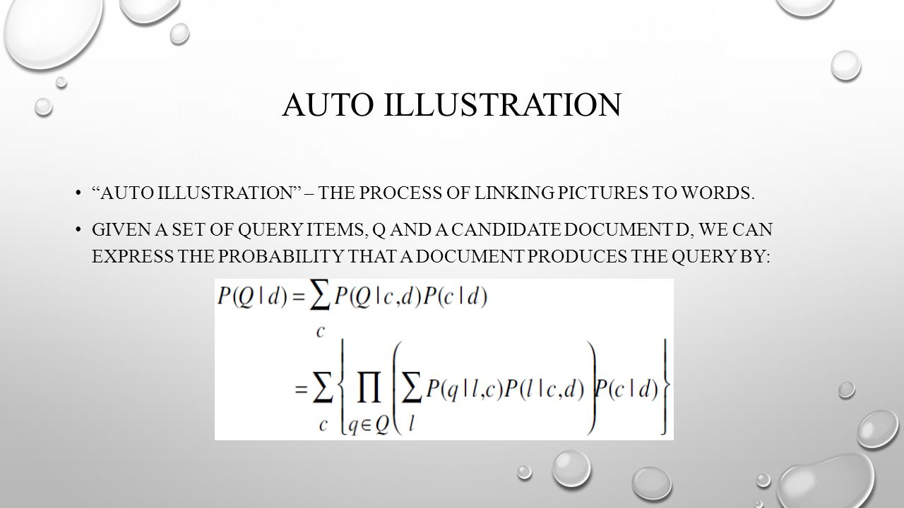 AUTO ILLUSTRATION AUTO ILLUSTRATION – THE PROCESS OF LINKING PICTURES TO WORDS.