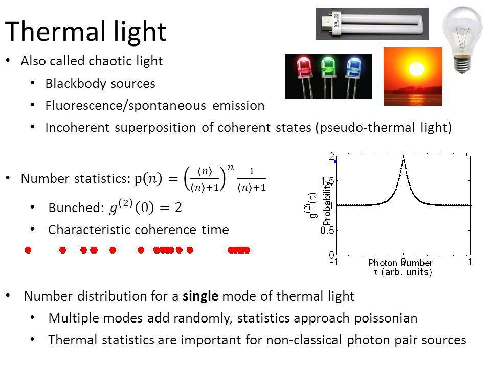 Thermal light
