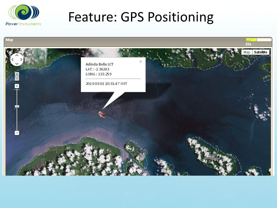 Feature: GPS Positioning