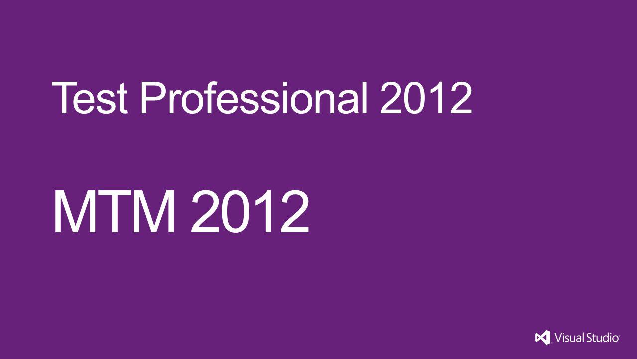 MTM 2012 Test Professional 2012
