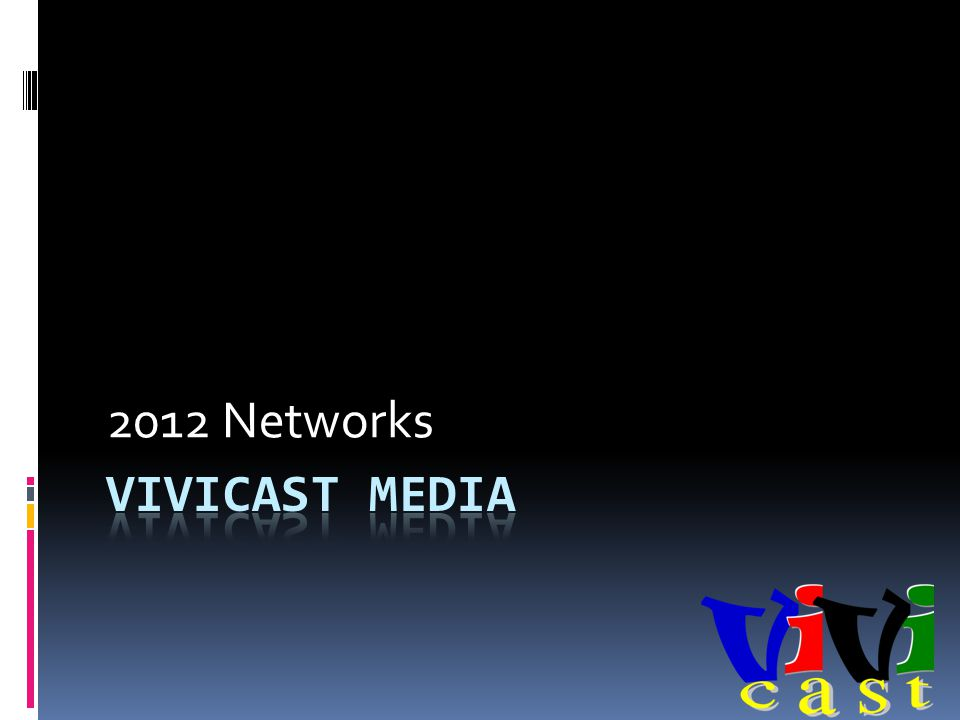 2012 Networks