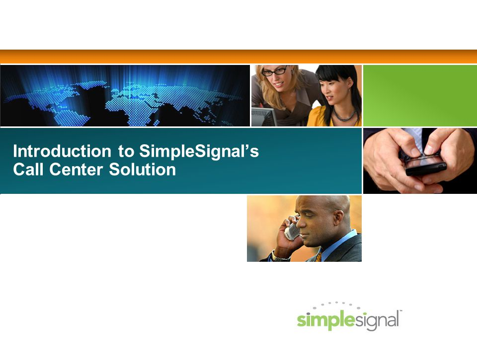 Introduction to SimpleSignals Call Center Solution