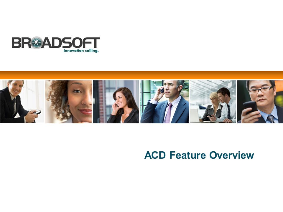 ACD Feature Overview