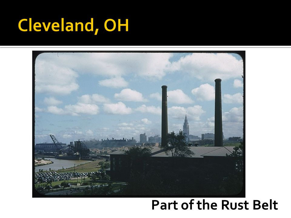Part of the Rust Belt