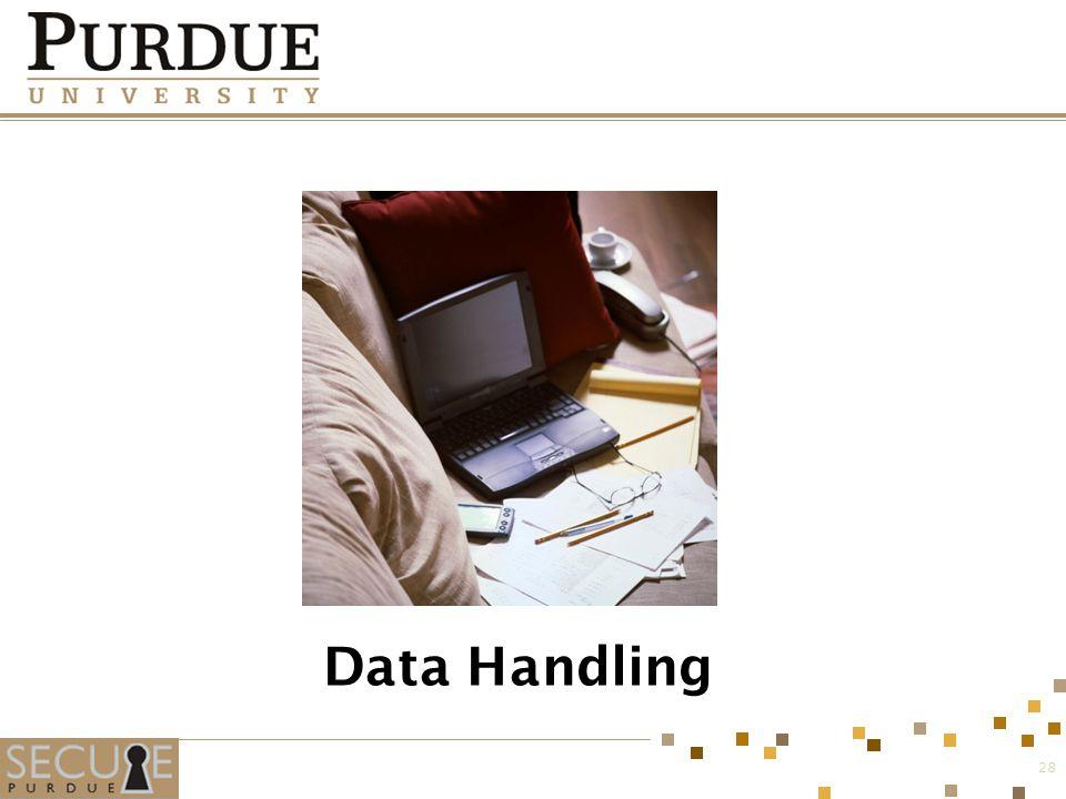 Data Handling 28