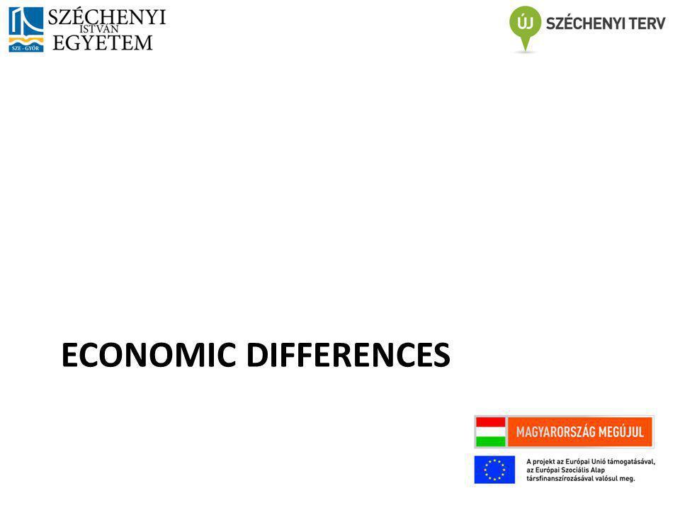 ECONOMIC DIFFERENCES