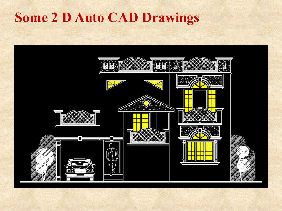 Some 2 D Auto CAD Drawings