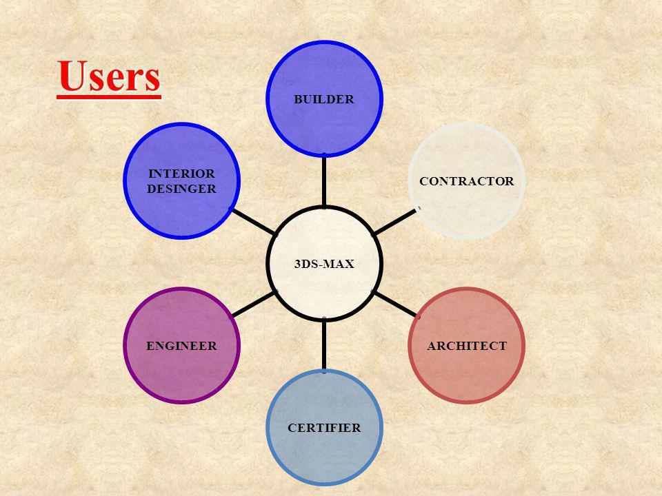 3DS- MAX BUILDERCONTRACTORARCHITECTCERTIFIERENGINEER INTERIOR DESINGER Users Users
