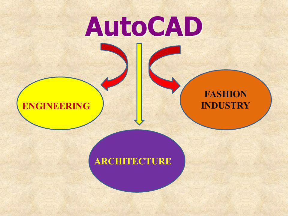 AutoCAD ENGINEERING ARCHITECTURE FASHION INDUSTRY