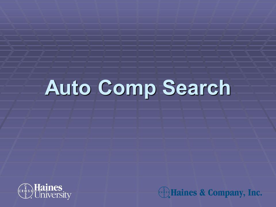 Auto Comp Search