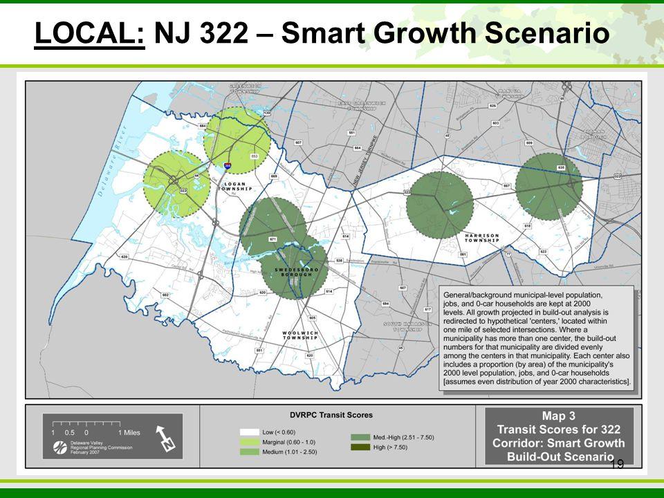 19 LOCAL: NJ 322 – Smart Growth Scenario 19