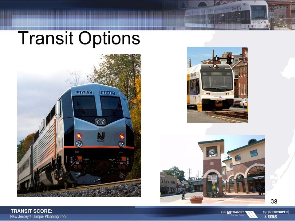 38 Transit Options 38