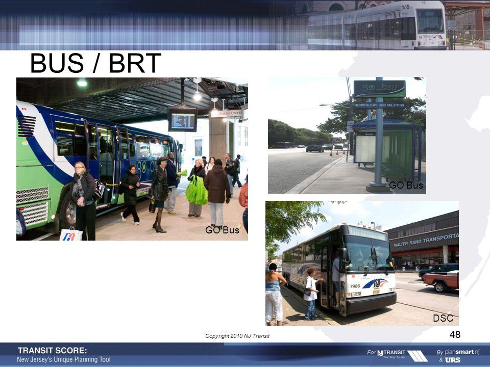 48 BUS / BRT DSC GO Bus Copyright 2010 NJ Transit 48