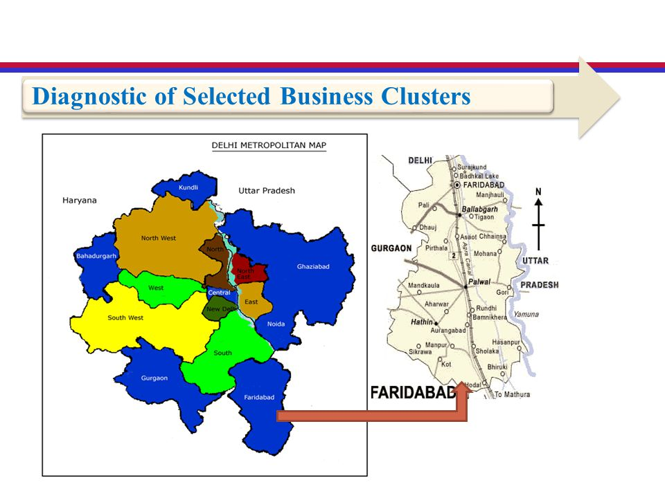 Diagnostic of Selected Business Clusters