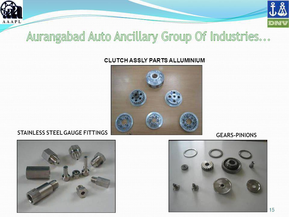 15 CLUTCH ASSLY PARTS ALLUMINIUM STAINLESS STEEL GAUGE FITTINGS GEARS-PINIONS