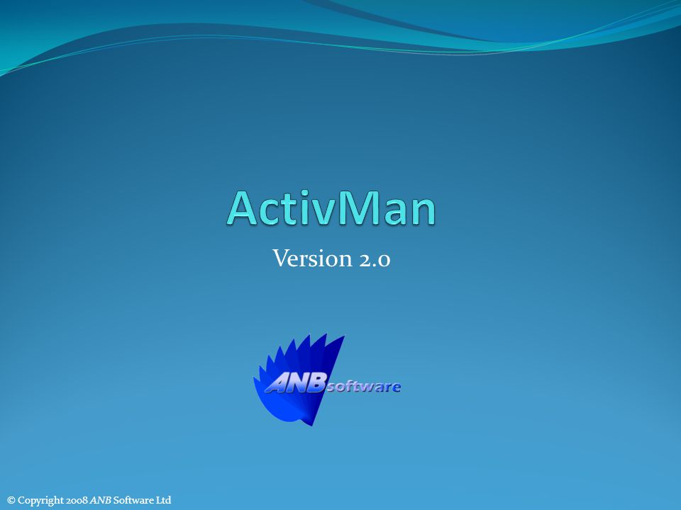 Version 2.0 © Copyright 2008 ANB Software Ltd