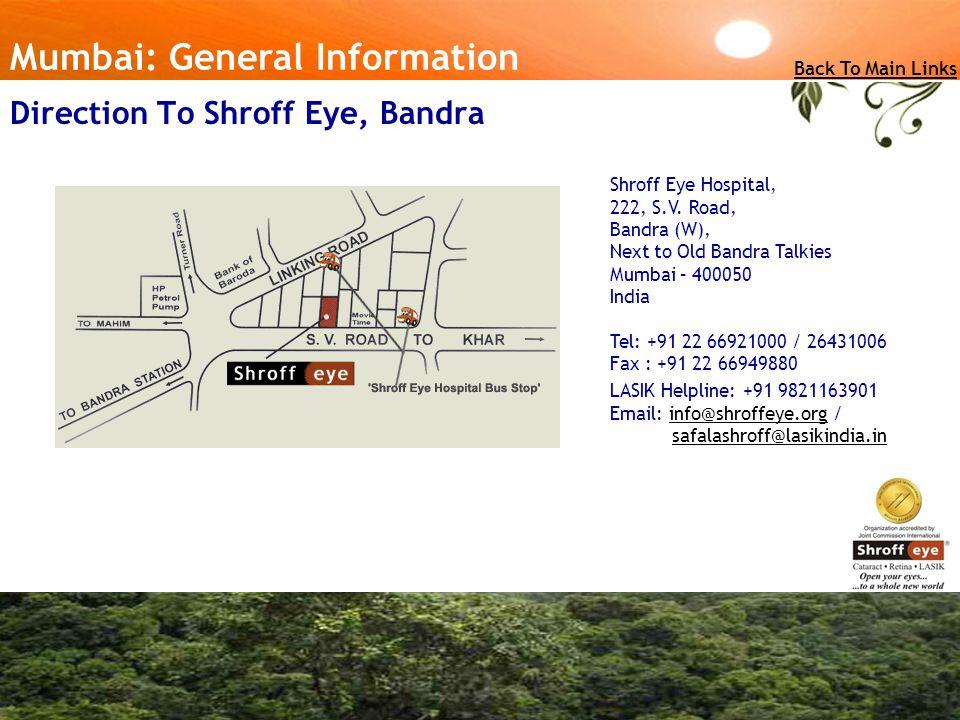 Shroff Eye Hospital, 222, S.V.