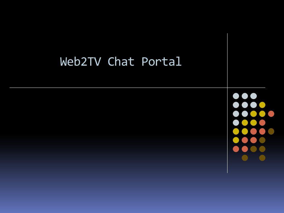 Web2TV Chat Portal