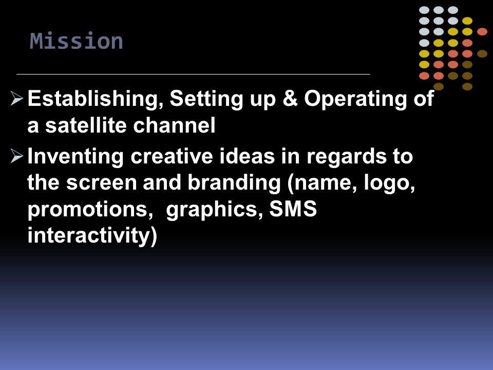 Sat-Channel SMS2TV Platform