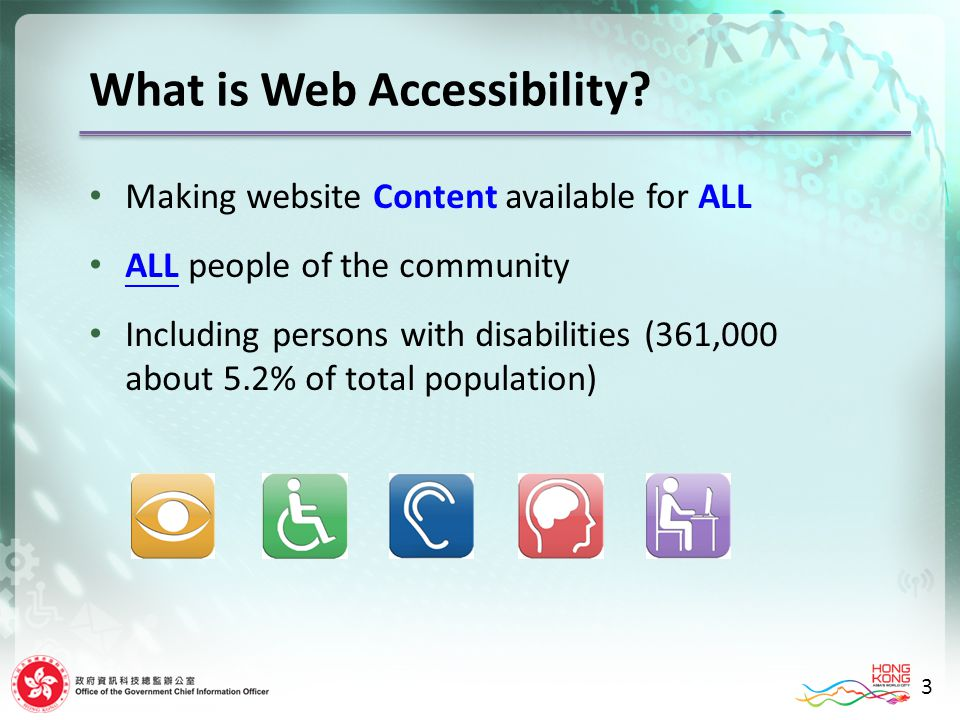 What is Web Accessibility.