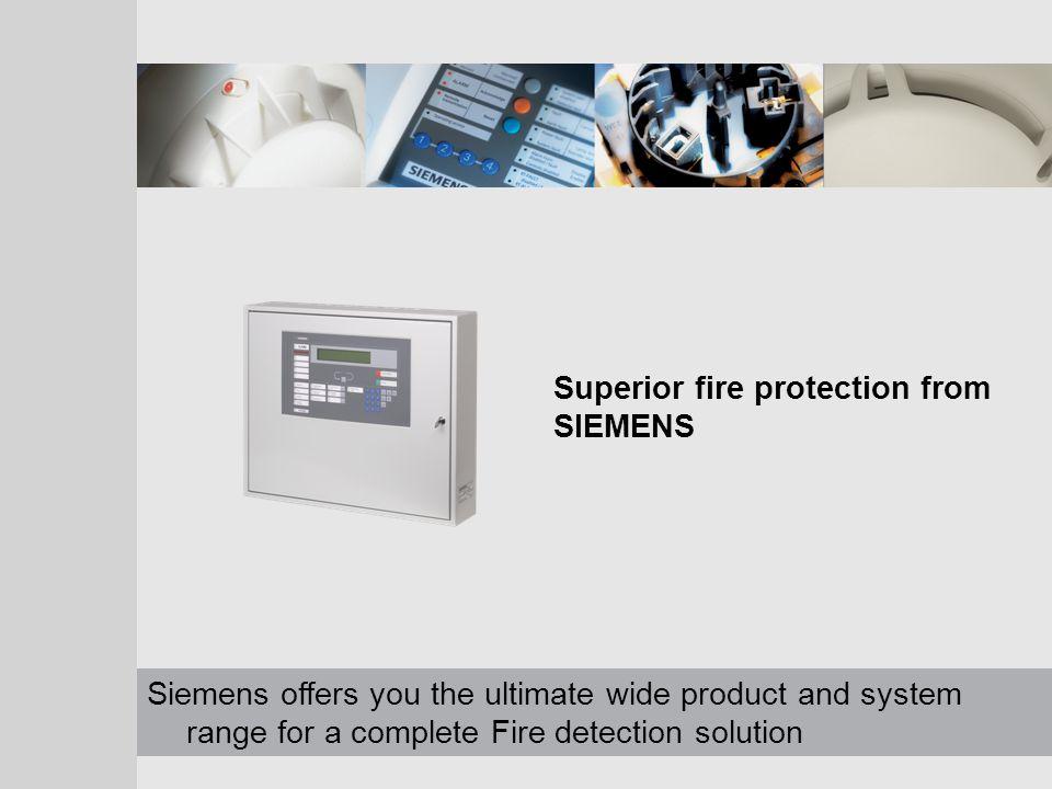 Siemens Switzerland Ltd Building Technologies Datum ergänzen! Synova - Auto–Addressable Systems 14 FC330A 2-4 loop panel 2 Loops – 128 devices each Op
