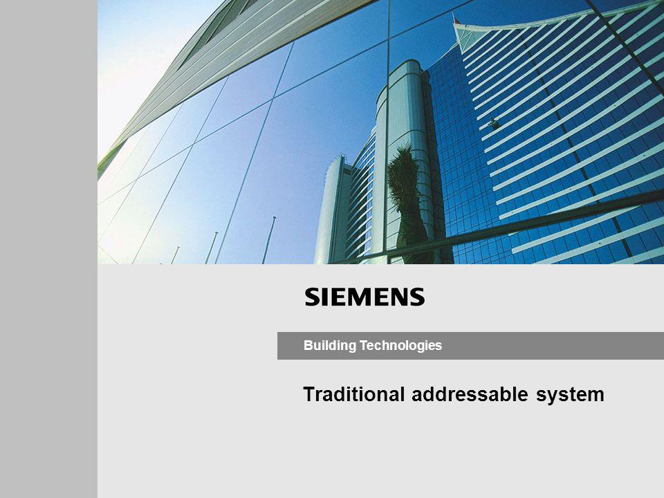 Siemens Switzerland Ltd Building Technologies Datum ergänzen! Synova - Auto–Addressable Systems 7 #1 #2 #? FC330A SynoLOOP - Daisy-chain auto-addressi