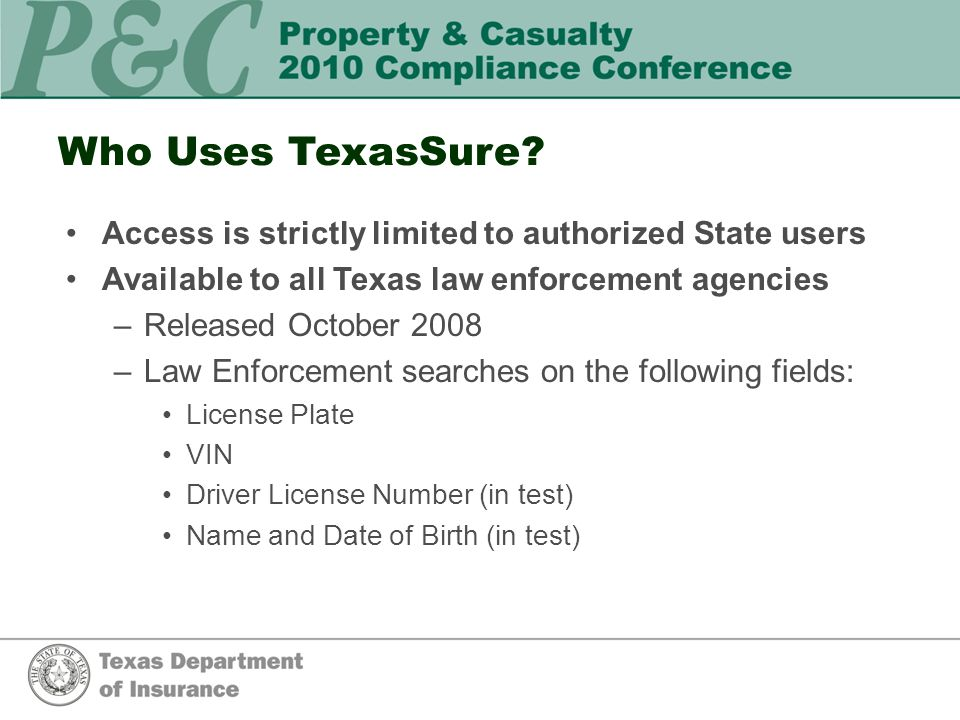 Who Uses TexasSure.