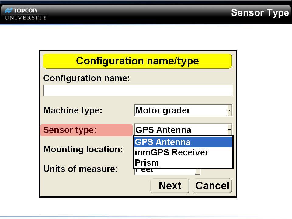 Sensor Type
