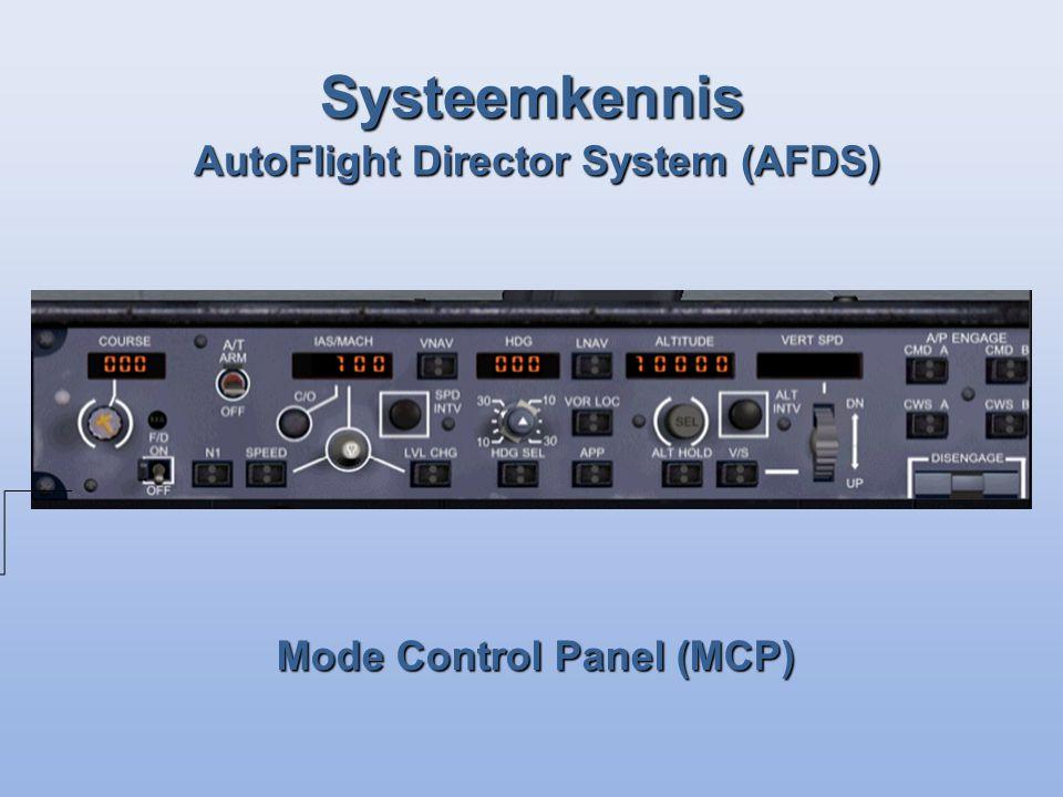 Mode Control Panel (MCP)