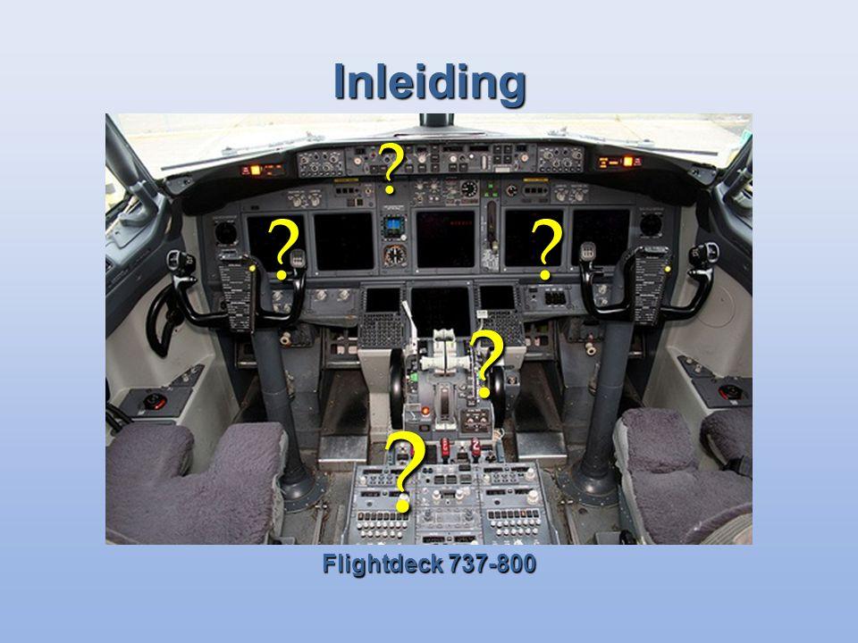 Inleiding Flightdeck 737-800 ?? ? ? ?
