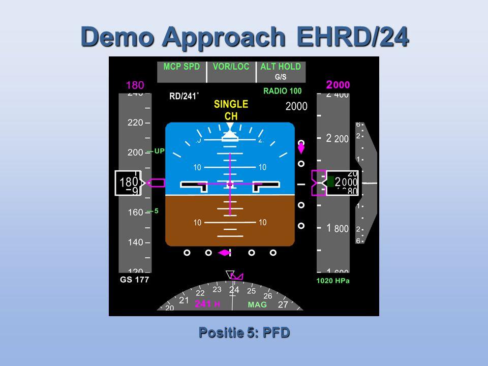 Demo Approach EHRD/24 Positie 5: PFD