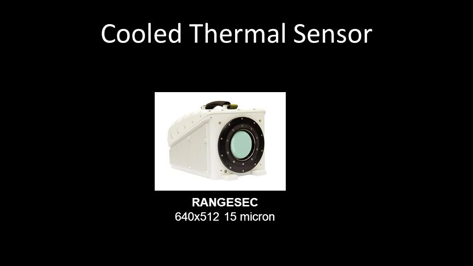 Cooled Thermal Sensor RANGESEC 640x512 15 micron