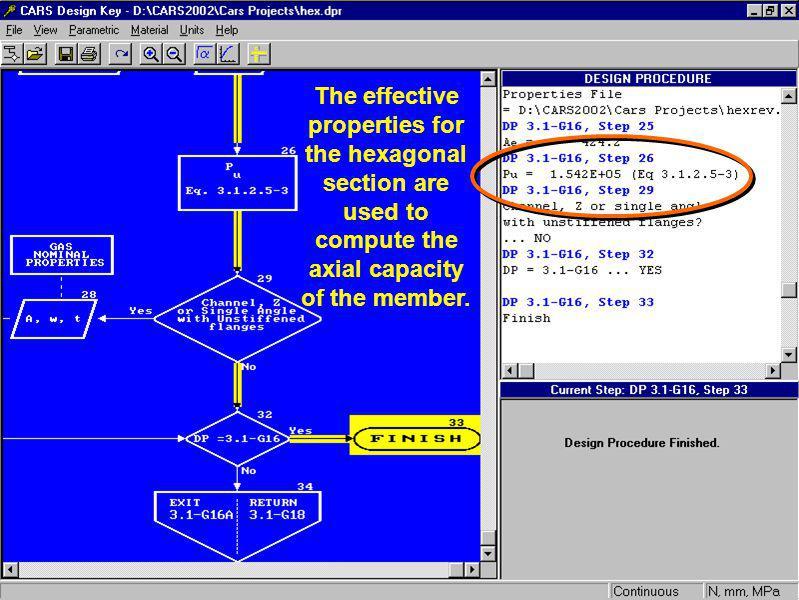 Compute the effective properties.