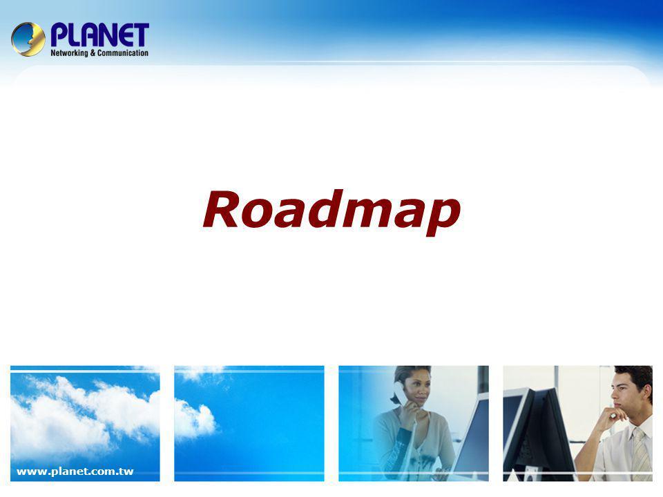 www.planet.com.tw Roadmap