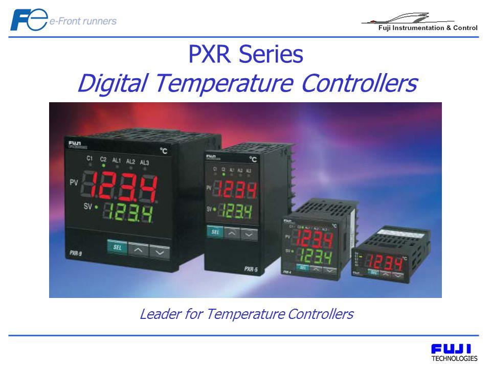 Fuji provides complete range of temperature control with PXR series.