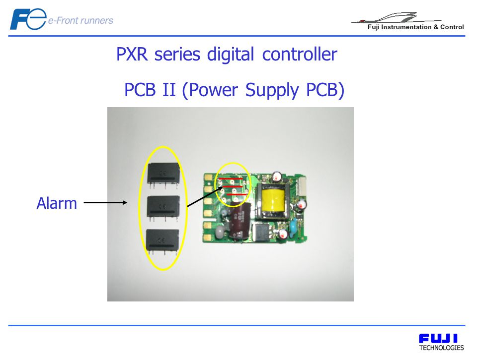 PXR series digital controller PCB II (Power Supply PCB) Alarm