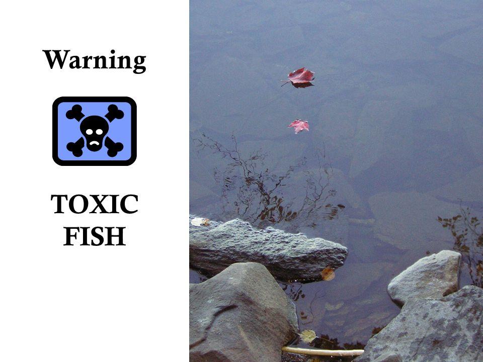 Warning TOXIC FISH