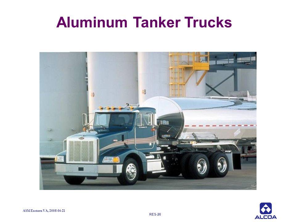 RES-26 ASM Eastern VA, 2005-04-21 Aluminum Tanker Trucks