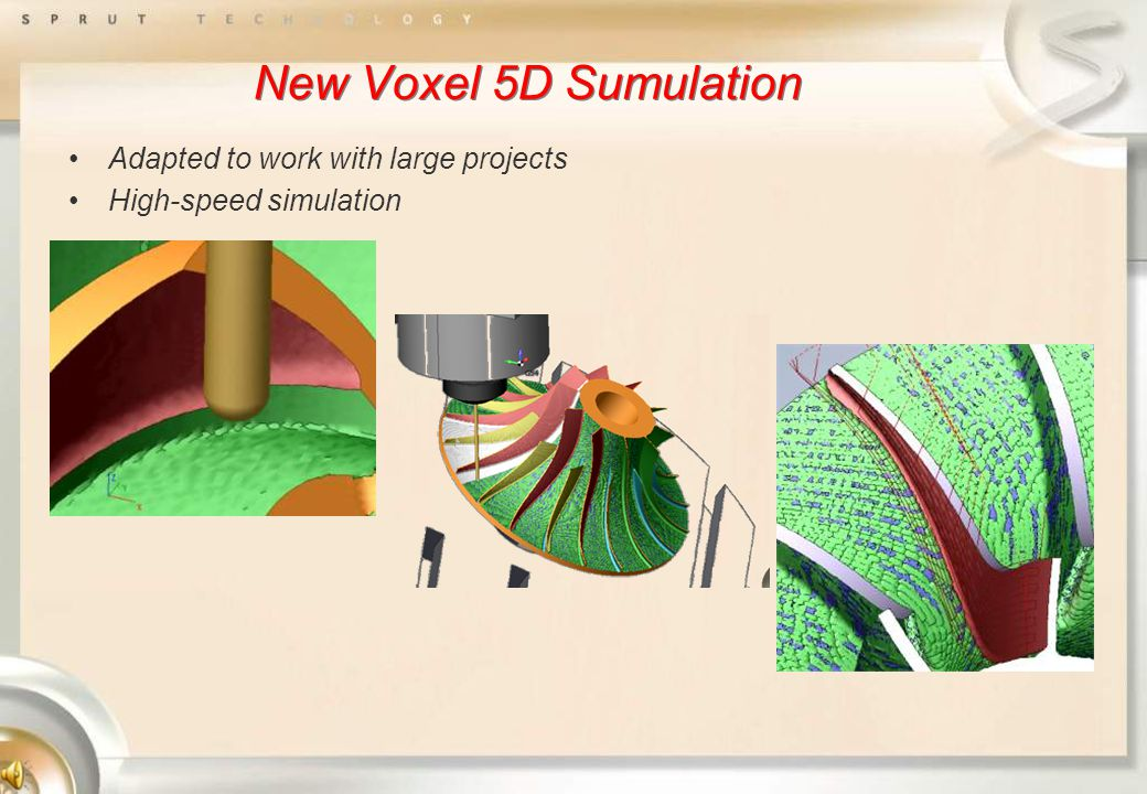 New Voxel 5D Sumulation Adapted to work with large projects High-speed simulation