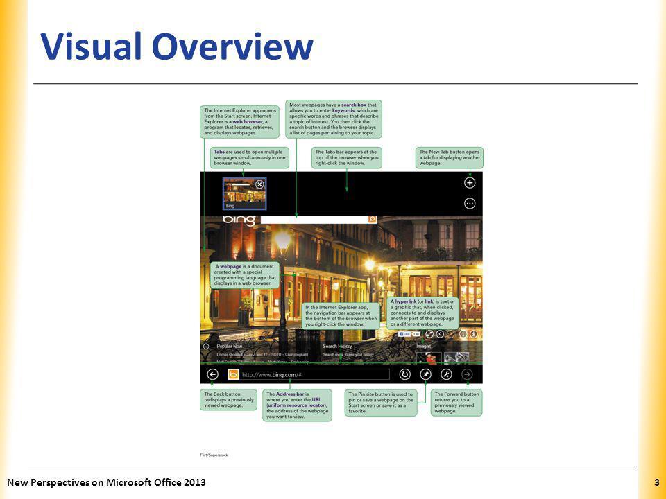 XP Microsoft Internet Explorer 10 New Perspectives on Microsoft Office 20134