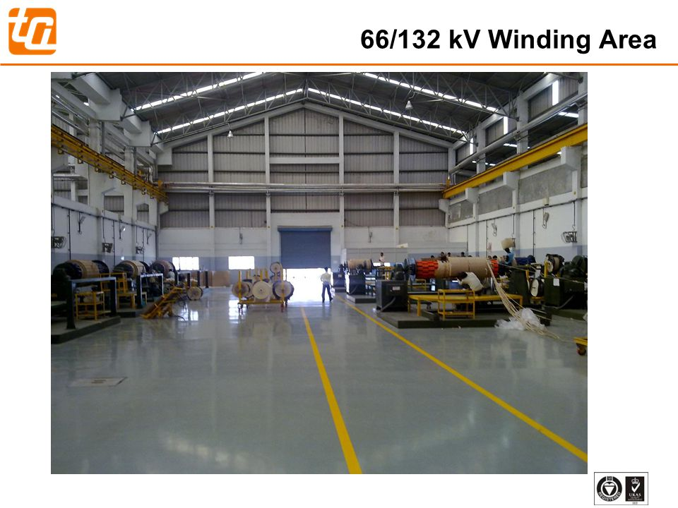 24 66/132 kV Winding Area