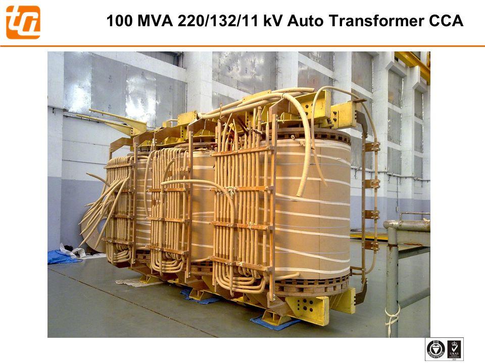 30 100 MVA 220/132/11 kV Auto Transformer CCA