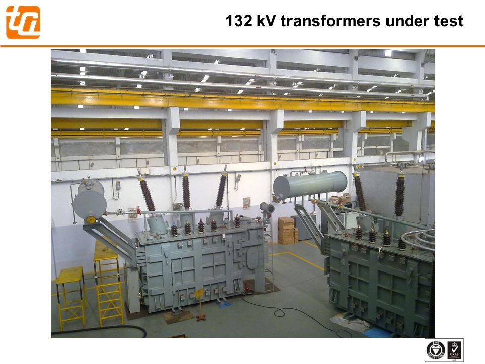 33 132 kV transformers under test