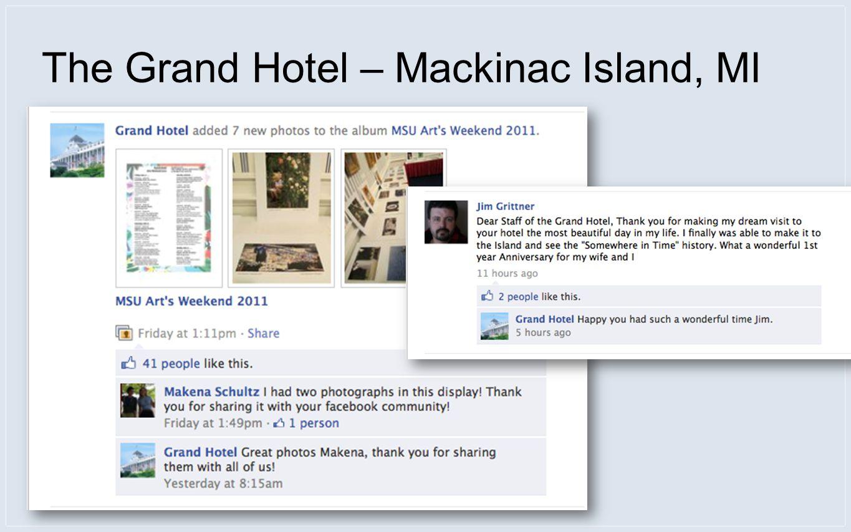 The Grand Hotel – Mackinac Island, MI