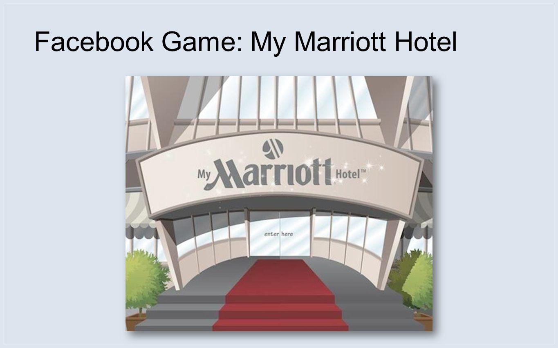 Facebook Game: My Marriott Hotel