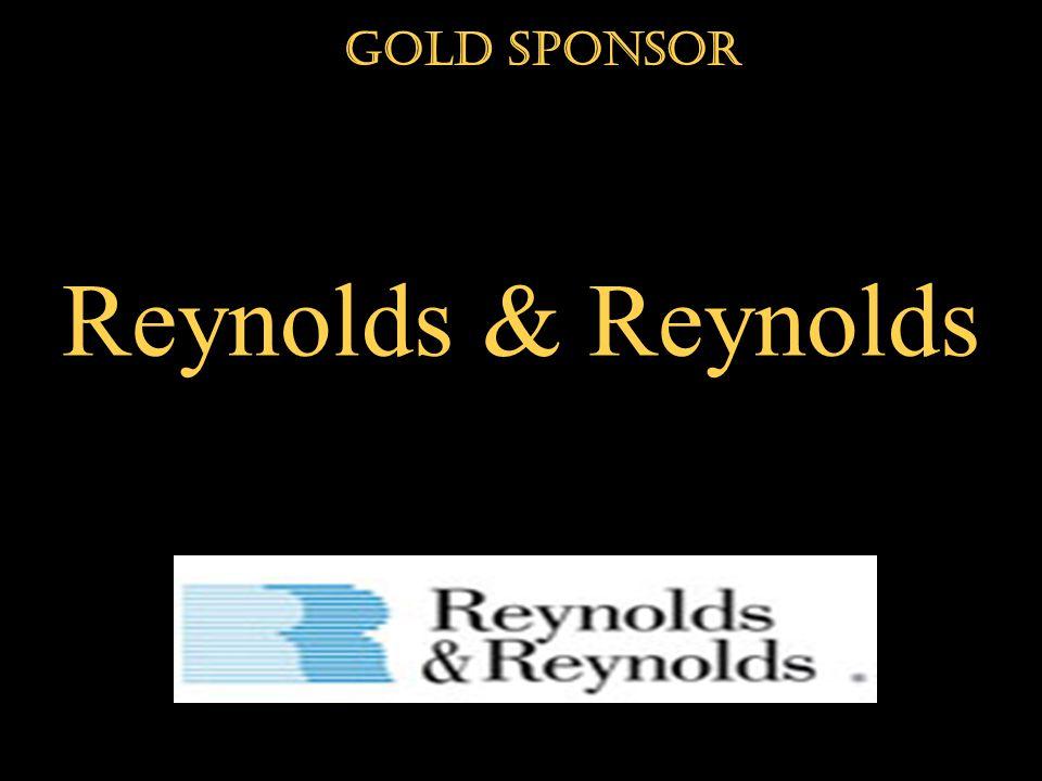 Reynolds & Reynolds Gold Sponsor