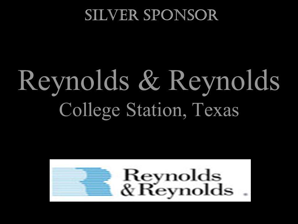 Reynolds & Reynolds College Station, Texas Silver Sponsor