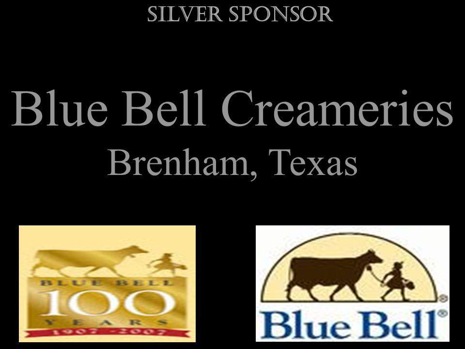 Blue Bell Creameries Brenham, Texas Silver Sponsor