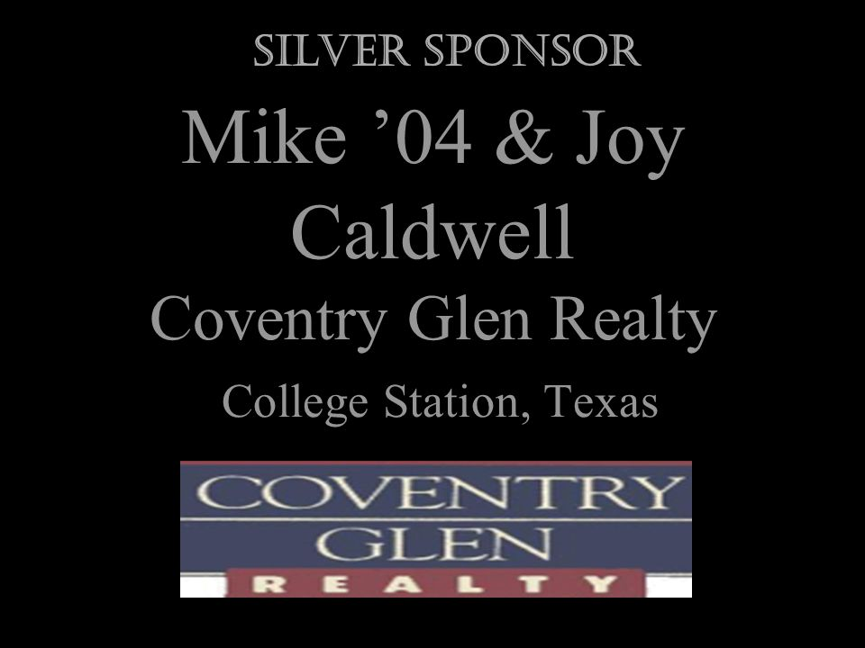 Dr. Karen LaVergne 77 New Braunfels, Texas Silver Sponsor