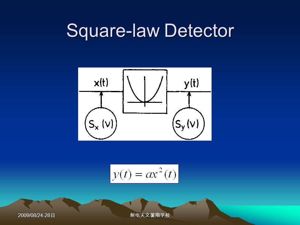 2009/08/24-28 Square-law Detector